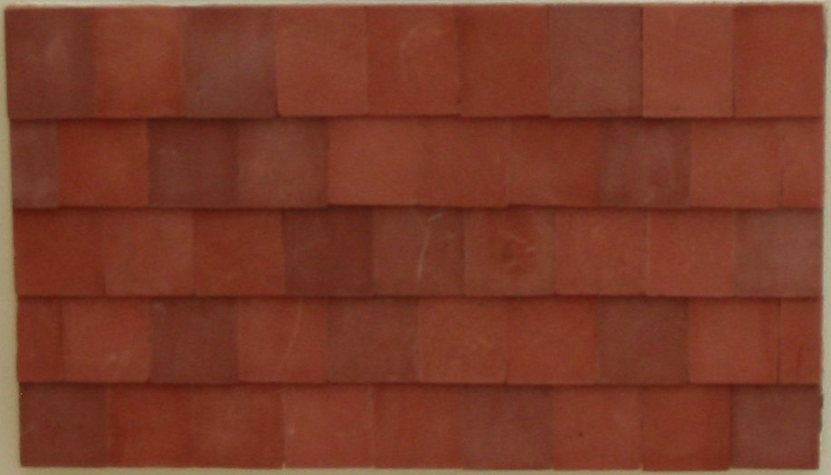 Traditional Roof Tiles Small Dolls House 1 24th Scale